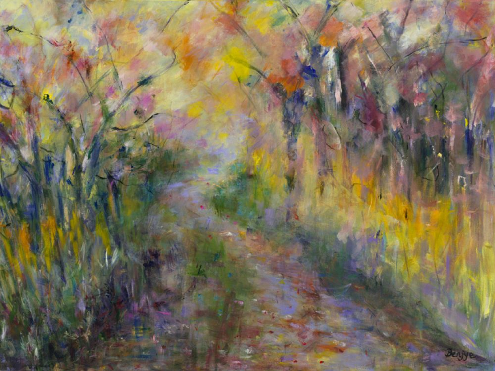 After Rain is a Giclee Print by the artist Benjye Troob