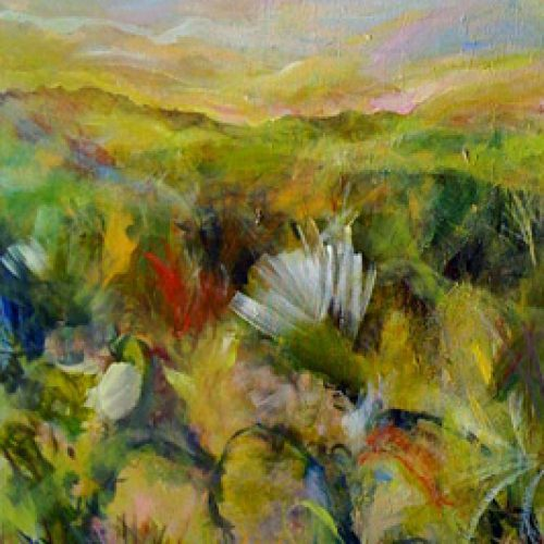 Desert Series I is an original landscape painting for sale by artist Benjye Troob