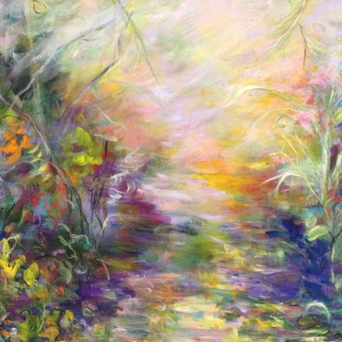 Enchanted Path is an original Landscape Painting by the artist Benjye Troob