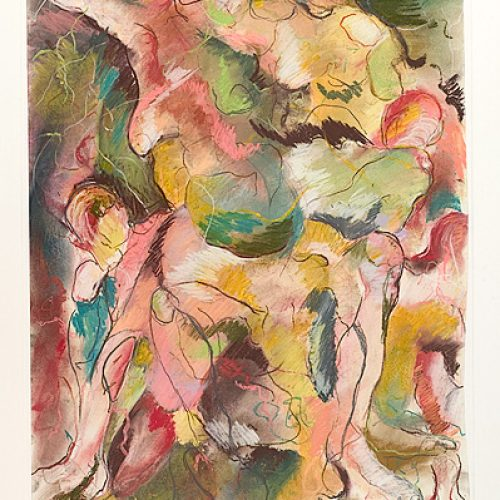 Exploration in Rhythm is an original drawing of multiple nude figures and is for sale here by the artist Benjye Troob