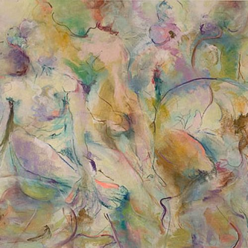 Garden of Dreams is an original drawing of multiple nude figures and is for sale here by the artist Benjye Troob