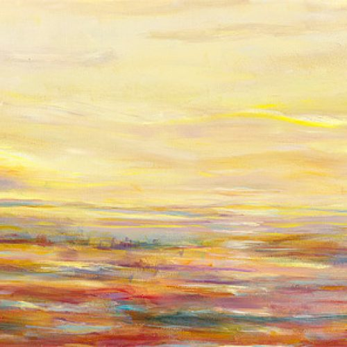 Ribbons of Love is an original landscape painting for sale by artist Benjye Troob