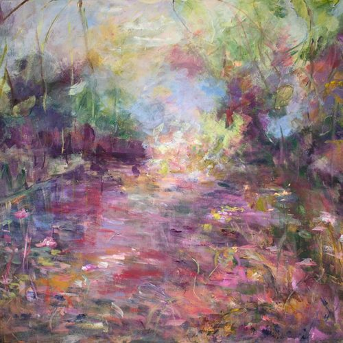 Tanquility is an landscape limited edition giclee print by artist Benjye Troob