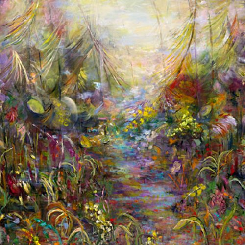 Tropical Brook is an original landscape painting for sale by artist Benjye Troob