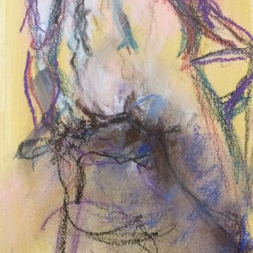Original Nude Single Figure by Artist Benjye Troob!